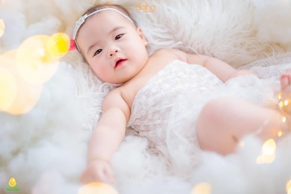 chụp ảnh cho bé 1 tuổi