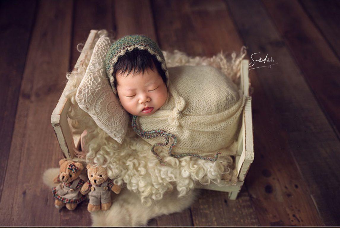 chụp ảnh bé sơ sinh
