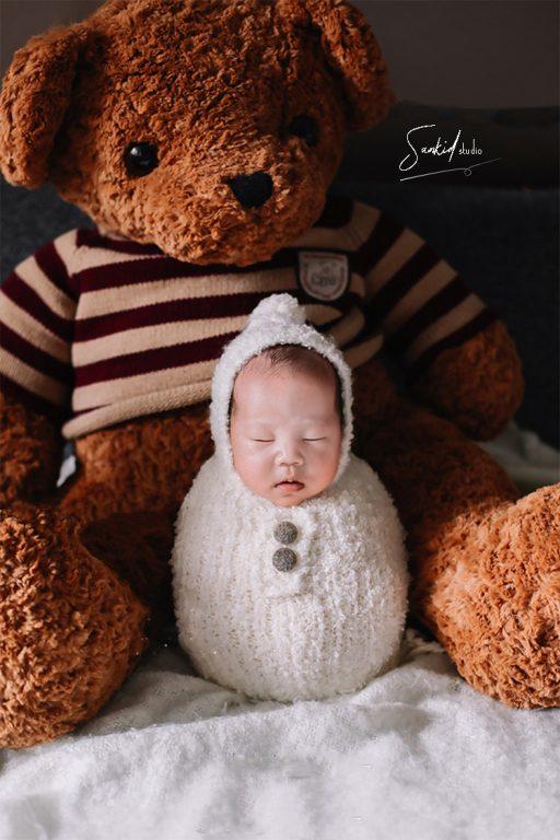 chụp ảnh cho bé sơ sinh1