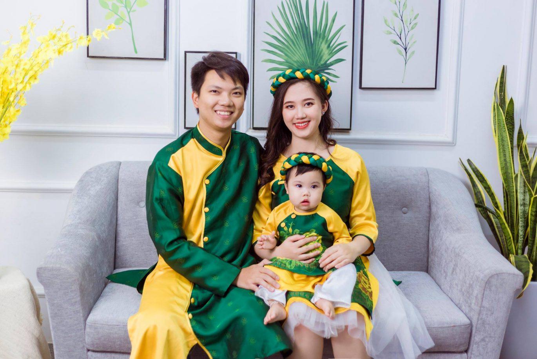 Chụp ảnh chân dung gia đình theo phong cách truyền thống