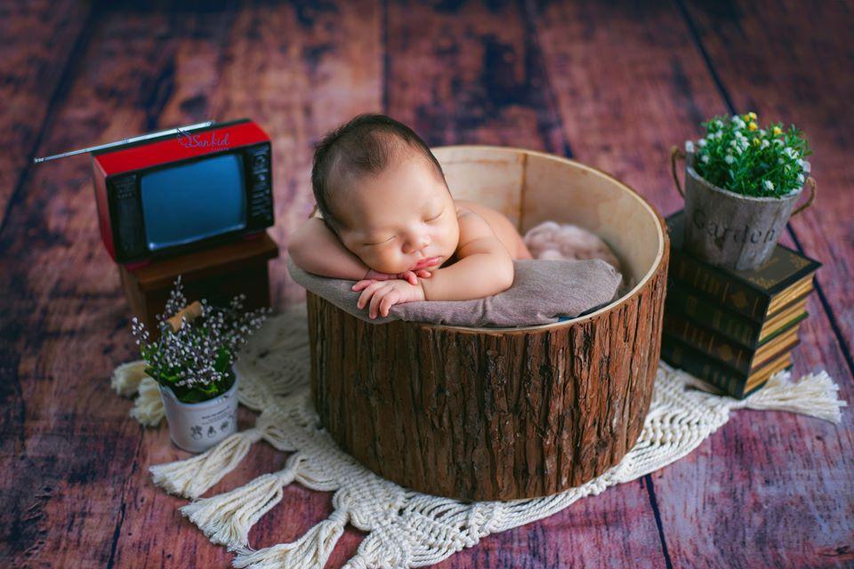 chụp ảnh newborn 100