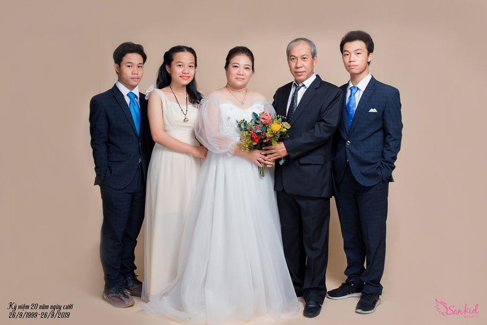 ý tưởng chụp ảnh gia đình vào một dịp đặc biệt