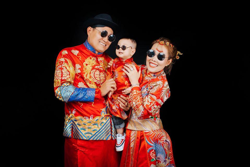 ý tưởng chụp hình gia đình nghệ thuật concept trung hoa