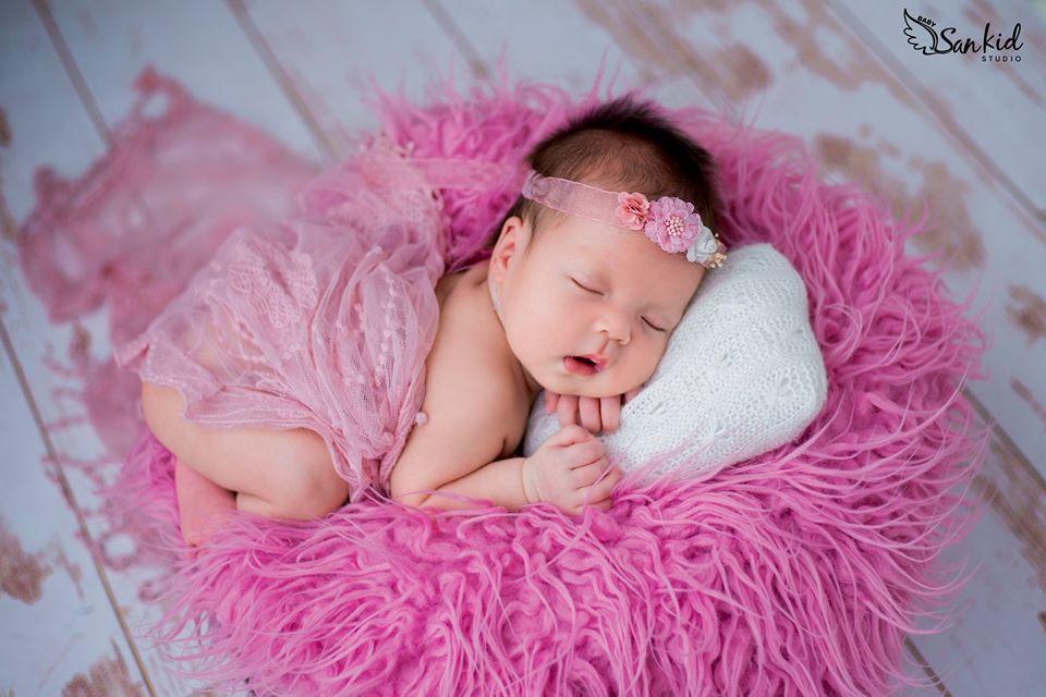 i chụp ảnh cho trẻ sơ sinh là phương châm của Sankid