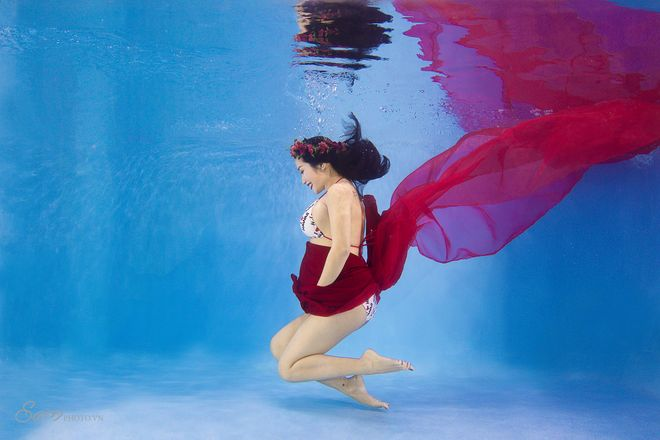 Chụp hình dưới nước