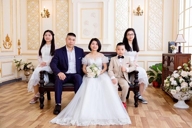 Chụp ảnh gia đình kiểu Hàn Quốc