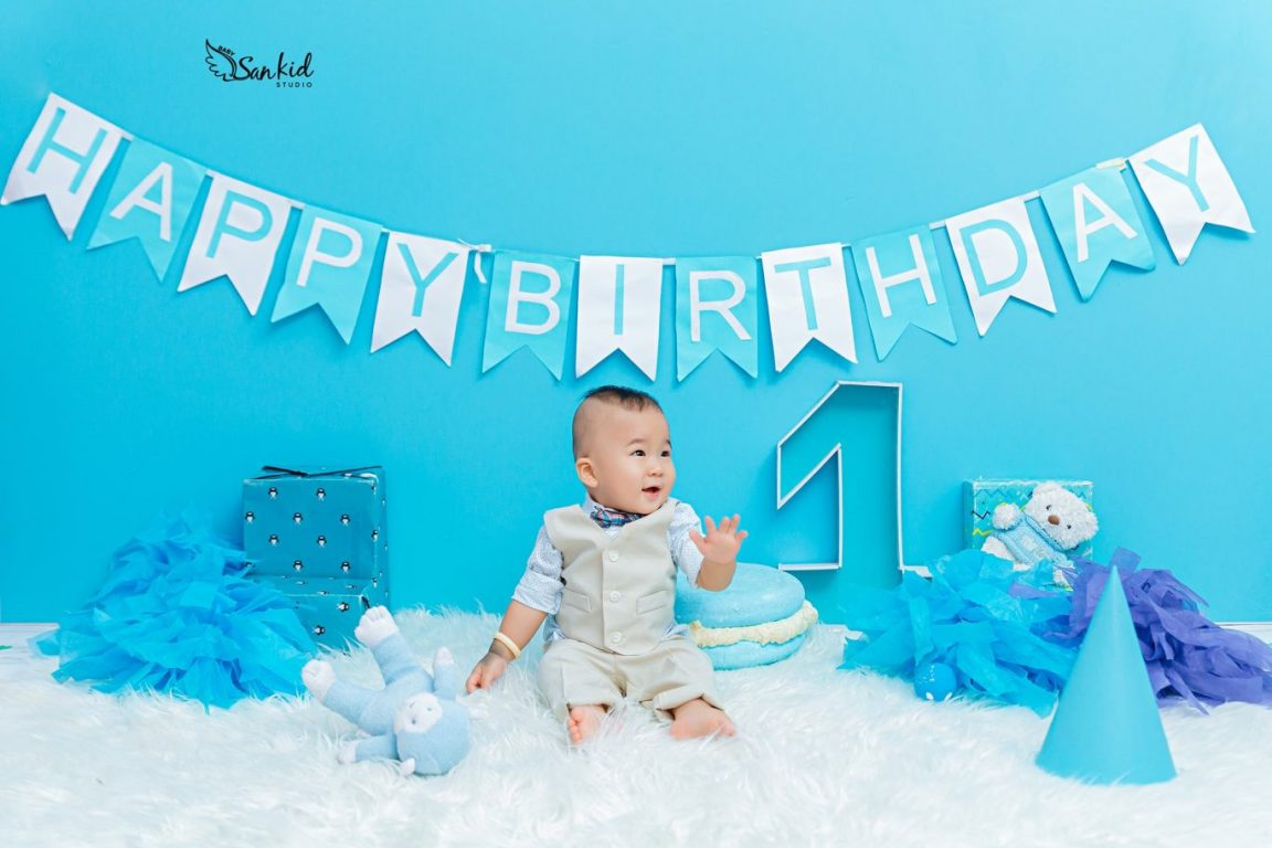 Ảnh sinh nhật bé 1 tuổi