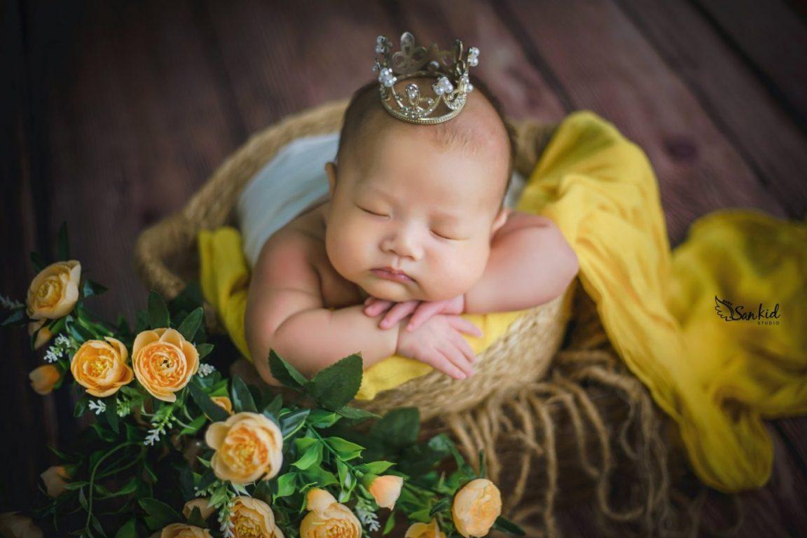 Ảnh bé sơ sinh 6 tháng tuổi đáng yêu