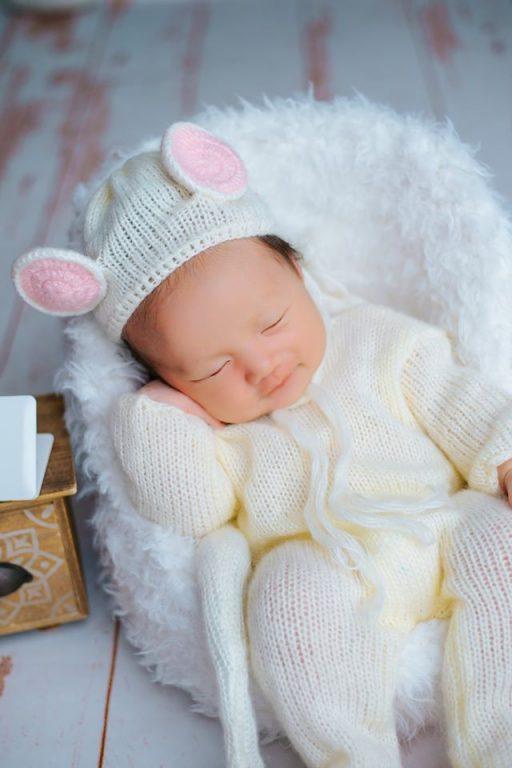 Ảnh bé sơ sinh đẹp, đáng yêu