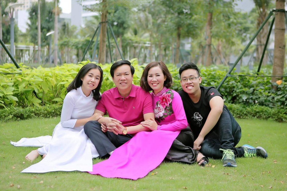 Chụp ảnh gia đình ghi dấu những kỷ niệm đặc biệt cùng nhau
