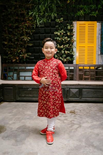 Trang phục tết trung thu cho bé trai