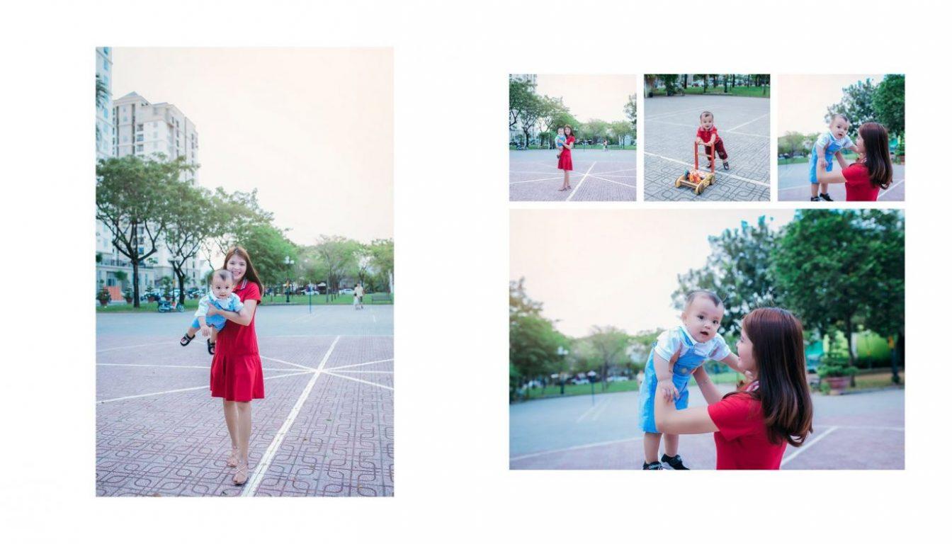 Chụp hình mẹ và bé dã ngoại đẹp 03