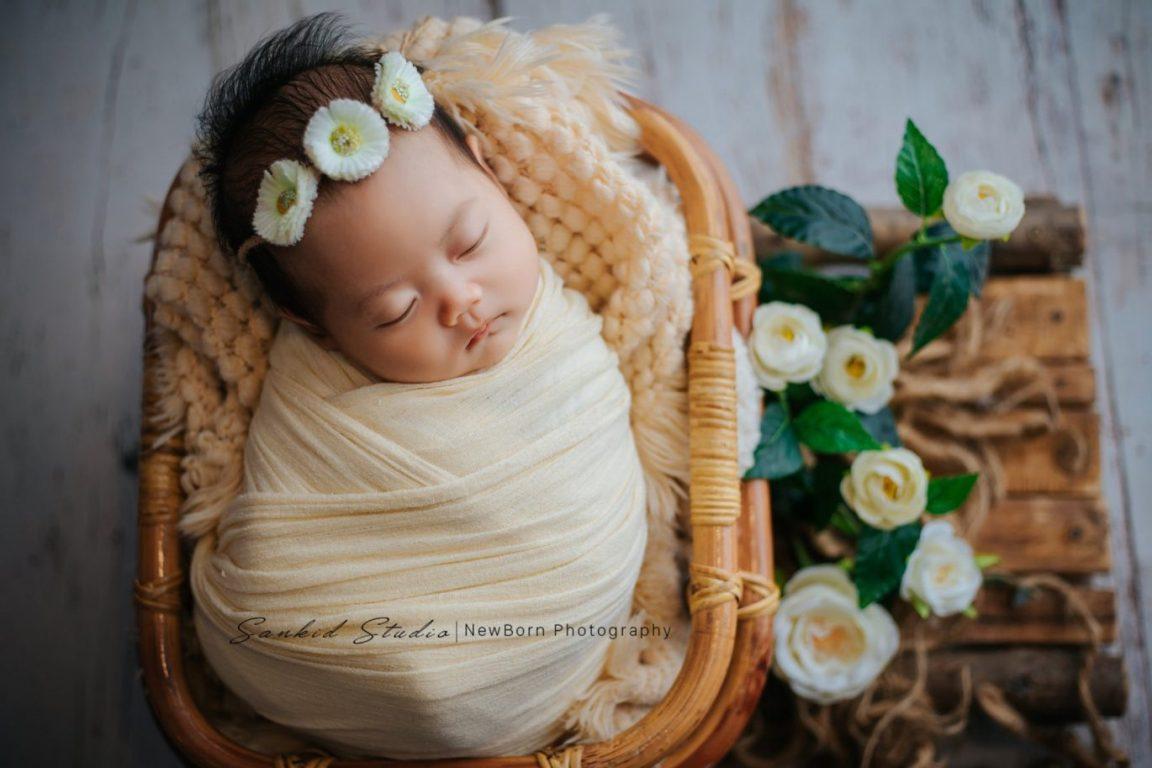 Chụp ảnh bé sơ sinh tại nhà đáng yêu 01