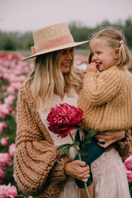 Chụp ảnh mẹ và con gái đẹp nghệ thuật 02