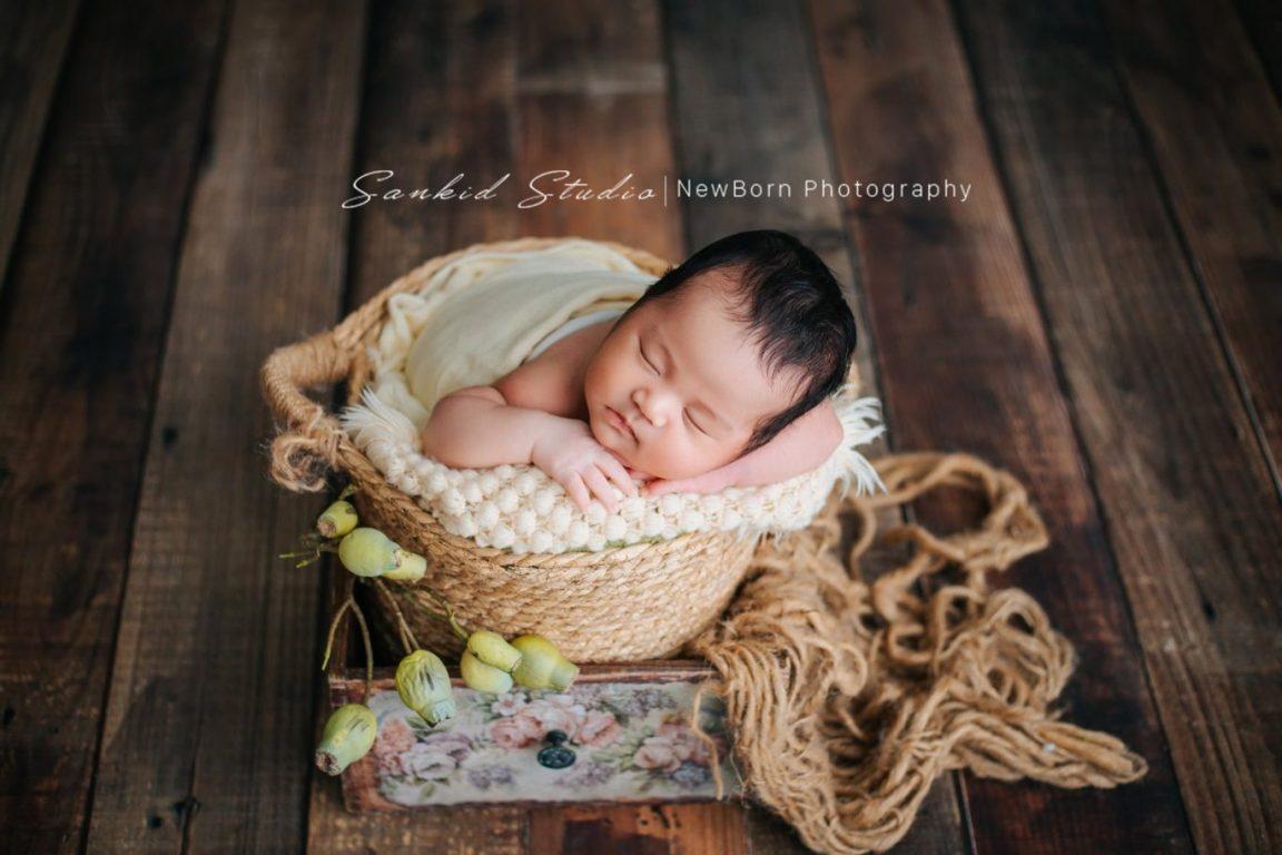 Chụp ảnh baby newborn tại nhà đẹp 07
