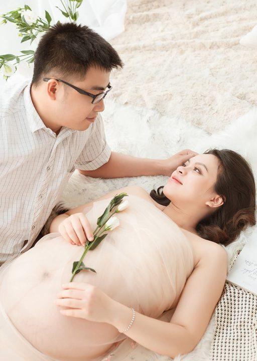 Chụp ảnh bầu đẹp và nghệ thuật cùng chồng 03
