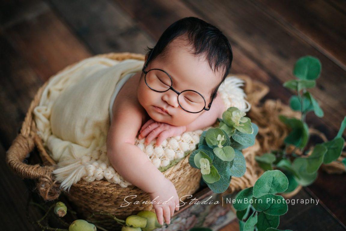 Chụp ảnh baby newborn tại nhà đẹp 08