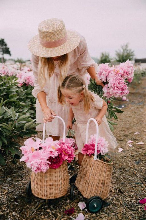 Chụp ảnh mẹ và con gái đẹp nghệ thuật 05