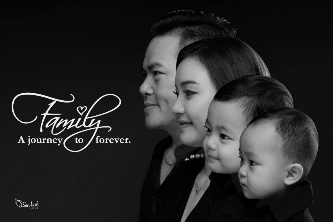 Chụp hình gia đình nghệ thuật 01