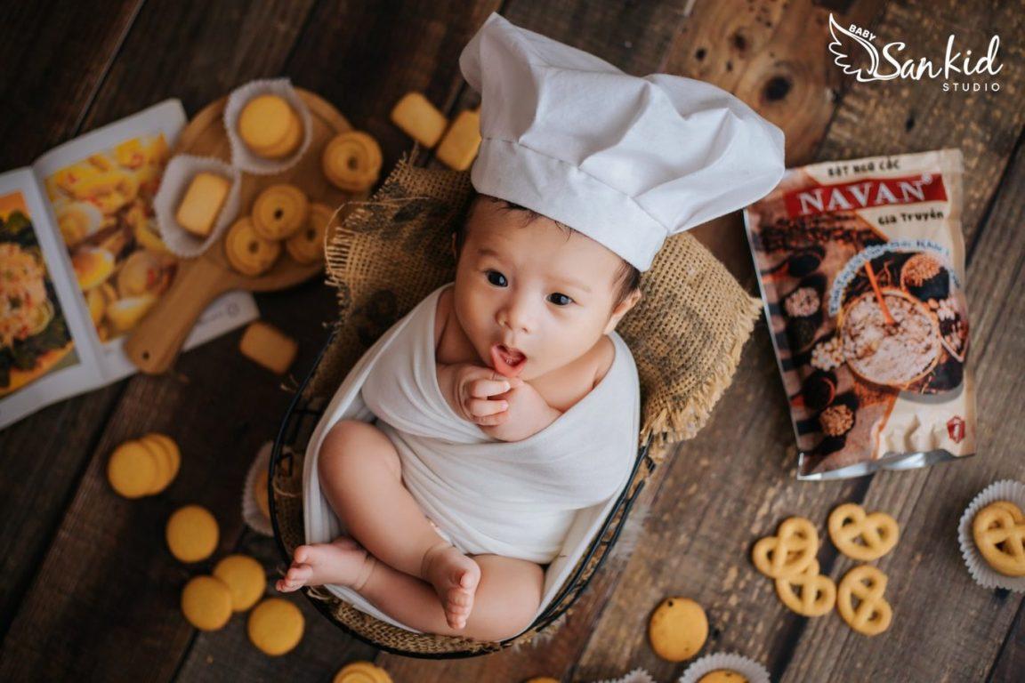 Chụp hình cho bé cùng những biểu cảm Vua Đầu Bếp Nhí 02