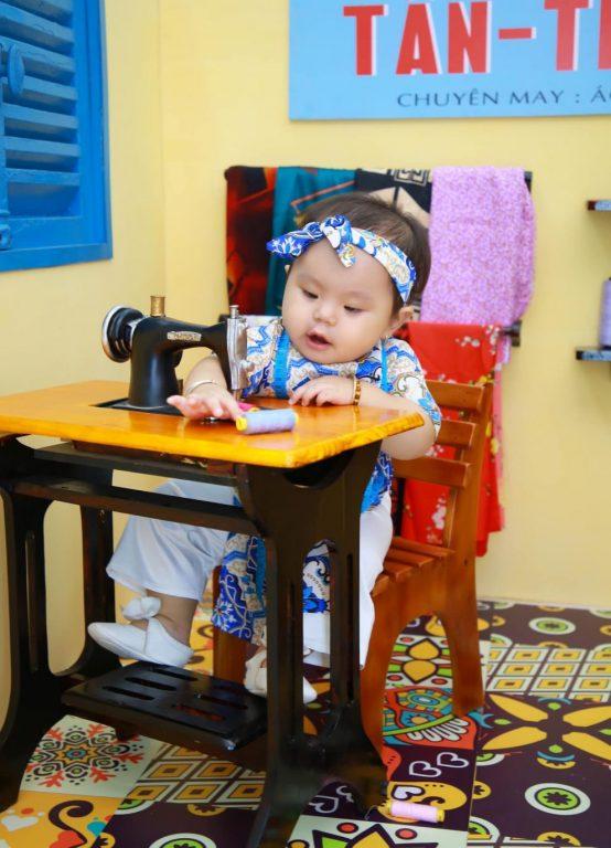 Chụp ảnh cho bé theo phong cách vintage tại TPHCM 04