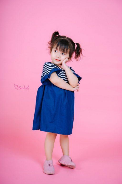 Váy baby doll vẫn là xu hướng thời trang cho bé được ưa chuộng