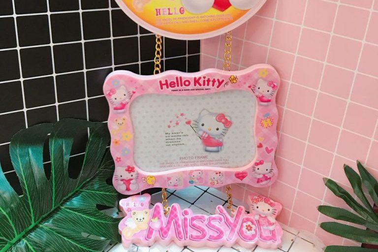 Những kiểu khung ảnh hello kitty cho bé dễ thương, hợp thời trang
