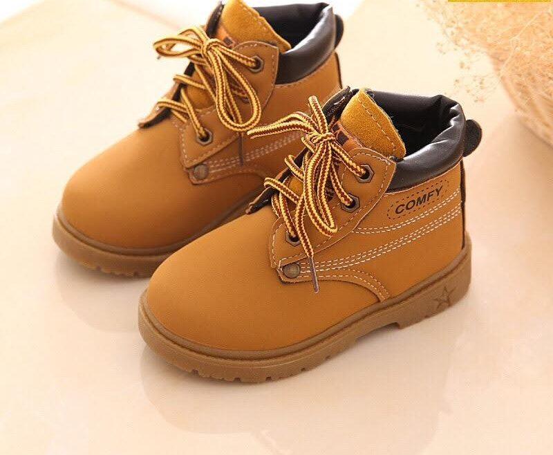 """Giày Boot cho bé trai chất """"lừ"""" phong cách"""