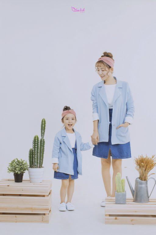 Xanh pastel thịnh hành tại thị trường thời trang cho bé