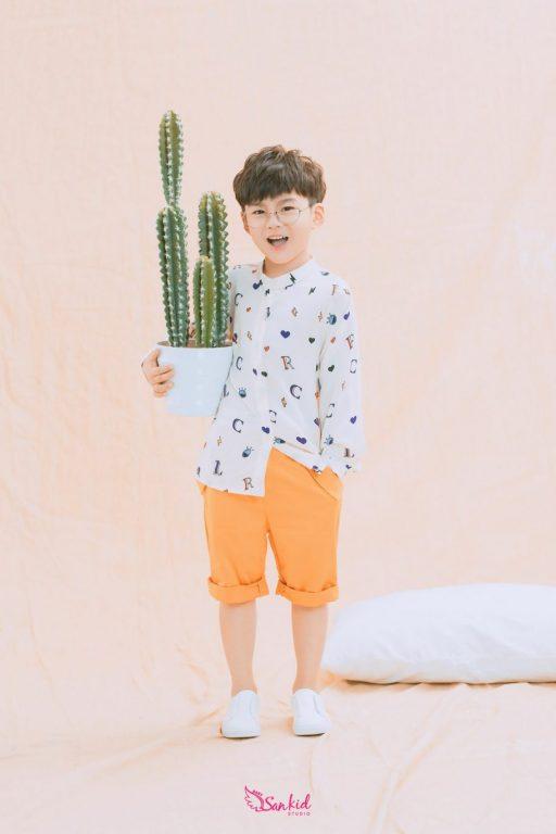 Chụp ảnh kiểu Hàn Quốc với màu pastel chủ đạo