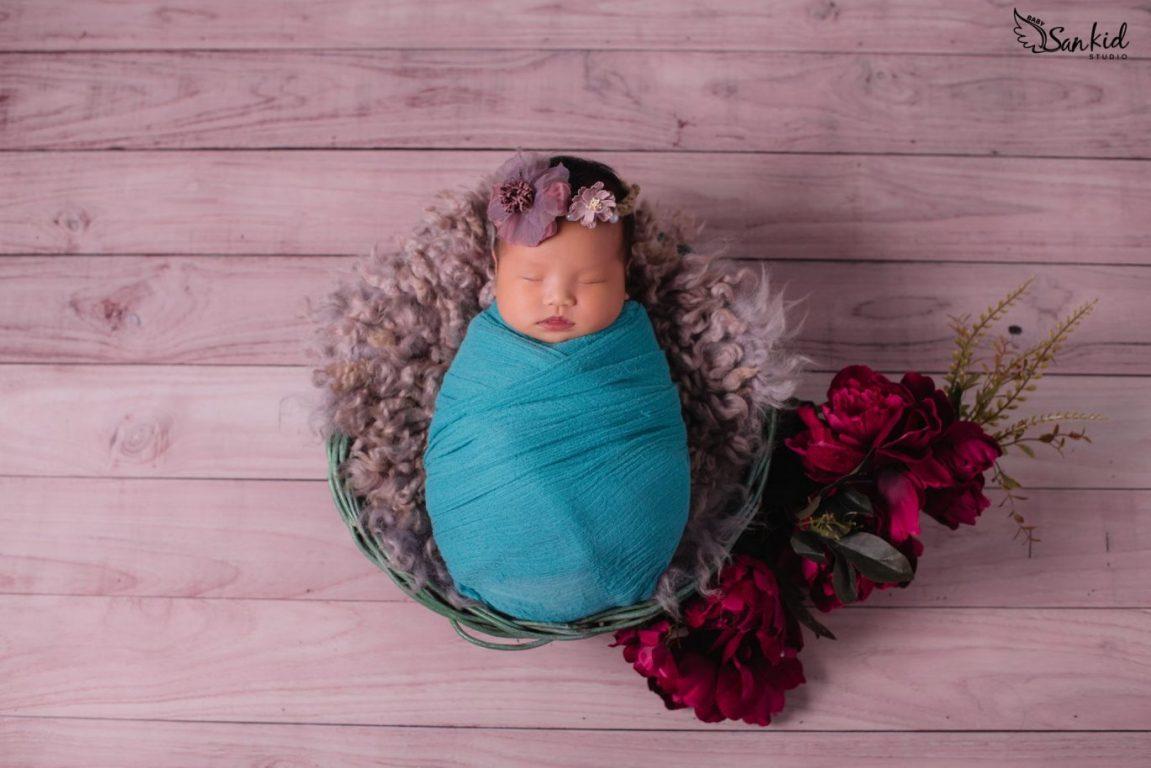 Concept chụp ảnh beauty cho bé sơ sinh