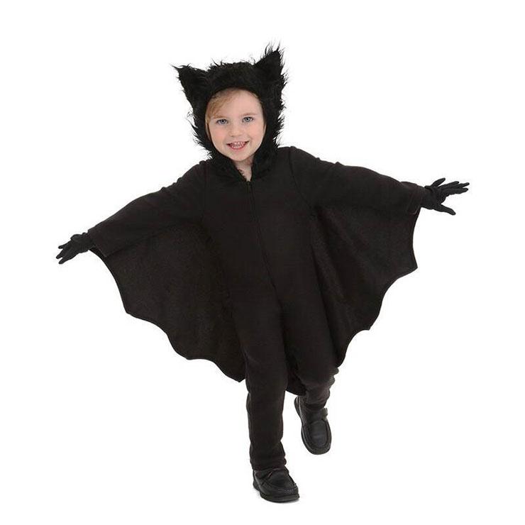Trang phục halloween bé trai người dơi vừa kỳ quái vừa tinh nghịch