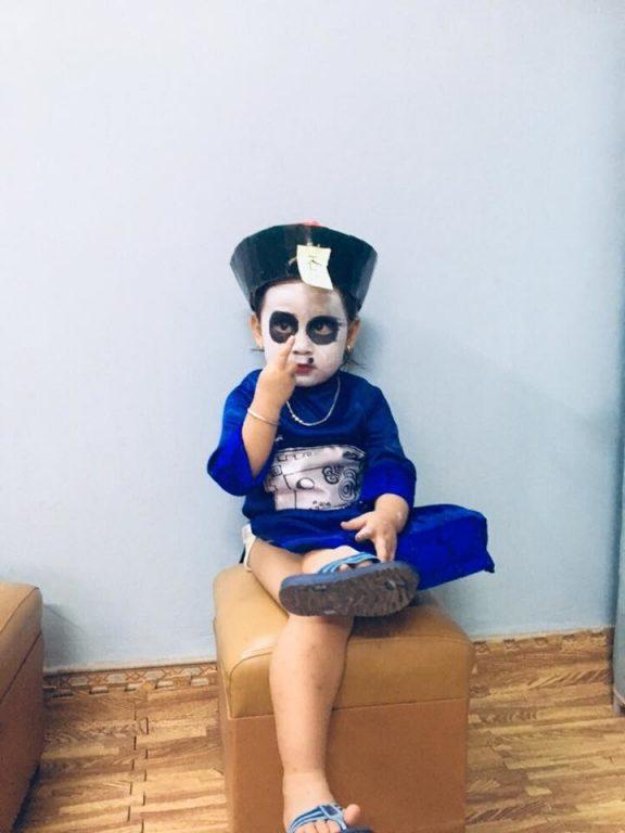Sợ hết hồn với 5 nhân vật hóa trang Halloween cho bé