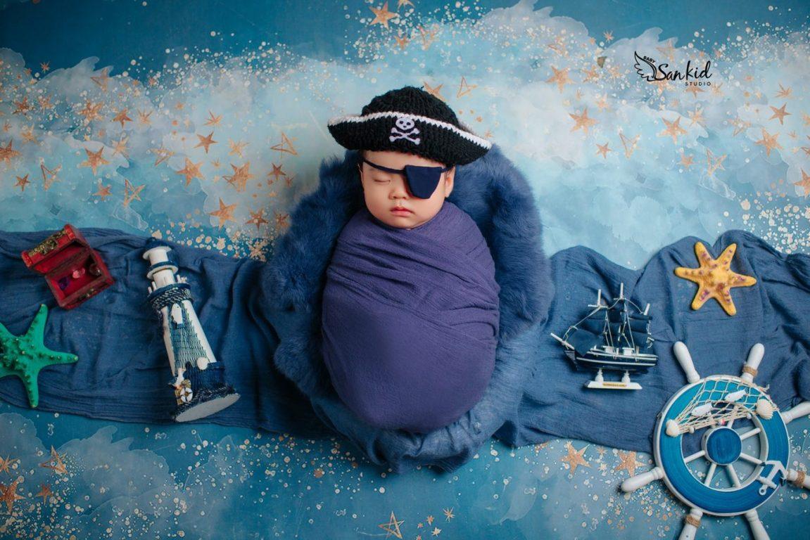 Hóa trang nhân vật HalloweenSparrow cướp biển vùng Caribbean