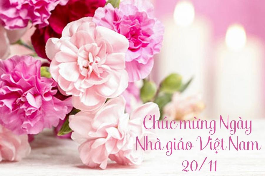 Hình ảnh chúc mừng 20/11 ngày Nhà Giáo Việt Nam ý nghĩa nhất