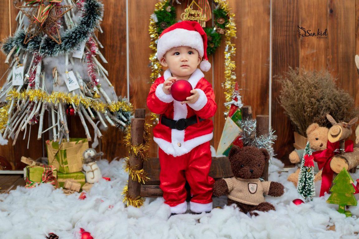 Hình ảnh ông già Noel dễ thương