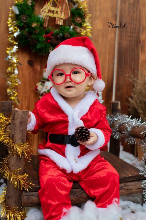 Hình ảnh ông già Noel đáng yêu