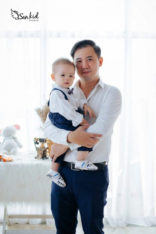 Hình ảnh ba và con trai đẹp